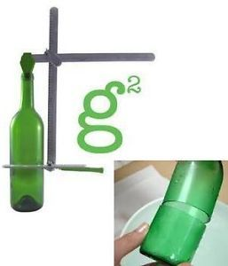 New Glass Bottle Cutter Generation Green G2 Stained Glass Wine Beer Bottles Jars