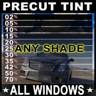 Ford Trucks Precut All Sides Rears Window Film Any Tint Shade or Mix