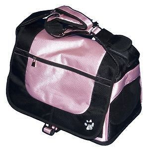 Pet Gear Messenger Bag Dog Cat Carrier Car Seat Pink