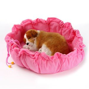 New Soft Pumpkin Cozy Warm Pet House Kennel Dog Bed Cat Bed for Cat Small Dog