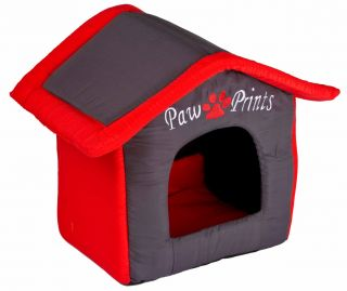 Collapsible Indoor Shelter Dog Cat Pet Kennel Soft Cosy Cushioned House Pillow