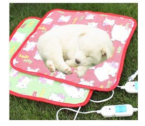 Adjustable Electric Warmer Dog Heating Mat Pad Blanket Bed for Pet Dog Cat New