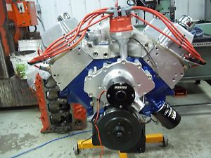 BBF 429 460 Bored to 532CI with 823HP Ford Racing Crate Engine 545 557 Complete