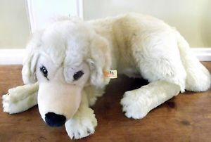Steiff AKC Yellow Lab Dog Plush Stuffed Animal Soft Toy American Kennel Club