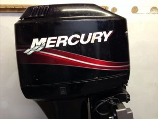 2005 Mercury 90 HP 2 Stroke Outboard Motor Boat Engine 75 60 Water Ready Rebuilt