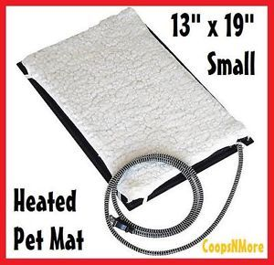 ★farm Innovators Small 13x19 Heated Pet Mat★keep Your Dog Cat Rabbit House Warm
