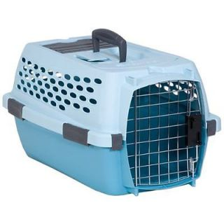 Petmate Kennel Cab Fashion Medium Blue Air Spa Teal Dog Cat Crates Travel New