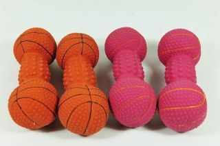 Wholesale Lots 24 Dog Cat Rubber Squeak Squeaker Toy Cute 7""