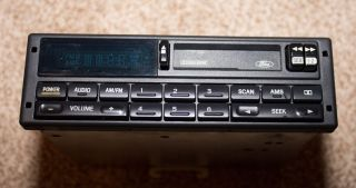 94 00 Ford Mustang Stock Am FM Radio Cassette Player Dolby Excellent Cond