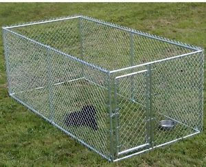Lucky Dog Chain Link Kennel Hyper Pet Lucky Dog Pen Pet Bed Cage Best in Show