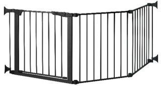 Kidco G3001 Auto Close CONFIGURE Child Safety Pet Gate Black formerly G80 New
