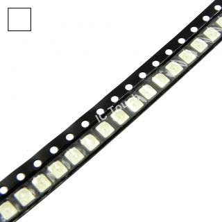 50pcs White SMD SMT LED PLCC 2 1210 3528 Superbright White LEDs Lamp Light