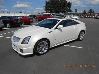 2013 Cadillac cts V Coupe Premium Collection Low Mileage Certified