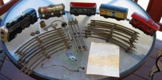 1949 Louis Marxs Toy Company Trains Commodore and Vanderbilt Set