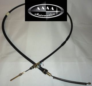 New 87 89 Dodge RAM 50 Mighty Max 4x4 Left Rear Park Brake Cable MB256879