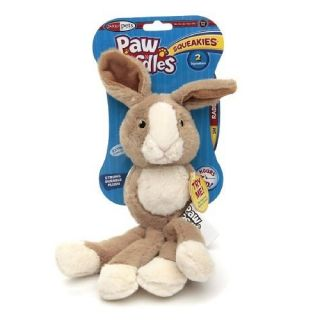 Paw Doodles Squeakies Dog Toy Rabbit Small 1 Ea