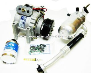 Trailblazer Envoy 2002 with Rear A C New Compressor Kit