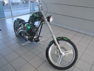 "Road Rage Performance Custom ""The Grinch"" w West Coast Choppers Frame and Tank"