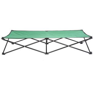 "Folding 53"" Elevated Camping Pet Cot Portable Dog Cat Sleep Bed Green"
