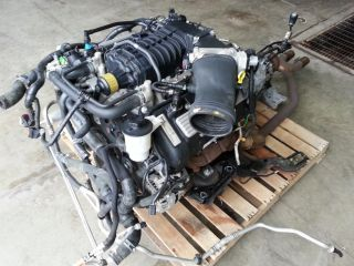 2007 2010 GT500 Shelby 5 4 DOHC Supercharged Engine Motor T6060 Transmission