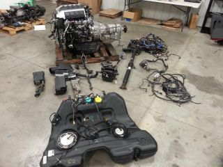 2010 2013 Camaro SS 6 2 L99 LS3 Engine Motor Transmission Automatic 6L80 6 Speed