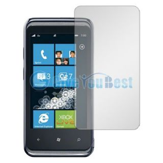 10 Clear LCD Screen Protector Guard for HTC 7 Pro T7576
