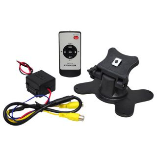"New Pyle 7"" TFT Wide Screen Headrest Monitor w Headrest Shroud Stand Remote"