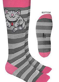 Big Bang Theory Kitty Socks 2012 New Apparel Accessories
