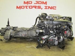 JDM Nissan Skyline r33 GTR RB26DETT Engine Swap Trans Harness ECU Twin Turbo