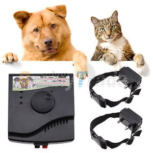 New 2 Dogs Waterproof in Ground Electronic Wireless Pet Fence Containment System