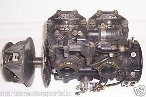 Arctic Cat 1995 1996 ZR Ext Pantera 580 EFI Engine Motor Primary Clutch More