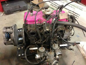 600 Triple Engine Complete Carb Cables Clutch Polaris XCR XLT Indy 600