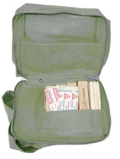 WWII Aircraft First Aid Kit Mint with Contents