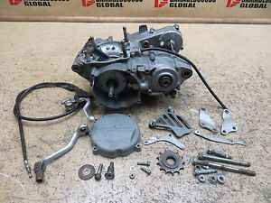 2001 01 Honda CR250 CR 250 Engine Motor Bottom End Crank Cases Tranny Clutch