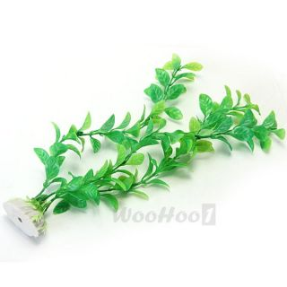 Green Artificial Fake Fish Tank Plastic Water Plants Decoration