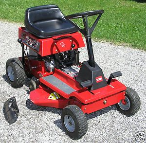 Toro Wheel Horse 8 25 Model 70044 Rear Engine Riding Mower 2001 Excellent USA