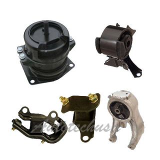 Honda Odyssey 99 04 Trans Engine Motor Mounts Kit A4518 A4519 A6552 A6579 A6582
