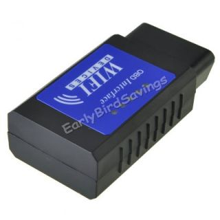 OBD2 WiFi Wireless OBD2 Scanner for Apple iPhone iPod iTouch OBDII Code Reader