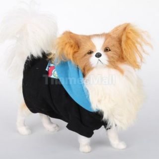 Pet Dog Puppy Hoodie Spring Autumn Warm Coat Clothes Clothing Apparel Size L