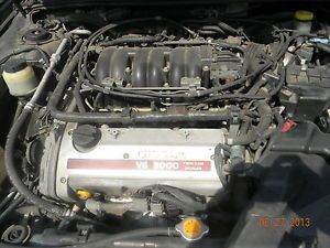 2000 Nissan Maxima 3 0 Engine Can Hear Run 4th Vin C 139K Complete w Components