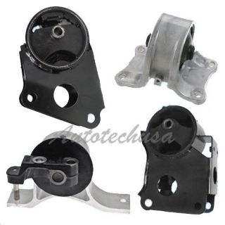 Dea Nissan Altima 2 5L Trans Engine Motor Mounts Kit A7340 A7341 A7342 A7343