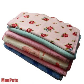 60x40cm Soft Pet Dog Cat Blanket Warm Fleece Mat Pad Bed Cover for Small Dog New