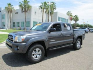 2009 Gray V6 Automatic Miles 46K Prerunner Crew Cab Pickup Truck
