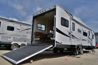 All New 2014 Freedom Express 301BLDS Toy Hauler Travel Trailer by Coachmen RV