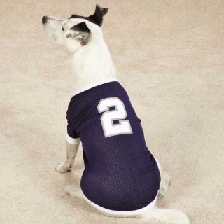 2 Derek Jeter Dog Jersey Pet New York Yankees Baseball Shirt Clothes Apparel