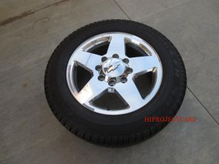 Factory Chevy GMC Sierra HD 2500 3500 20'' Polished Wheels Tires Denali 18