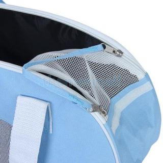 Pet Dog Puppy Cat Carrier Tote Shoulder Bag Ventilated Mesh Style Fashion
