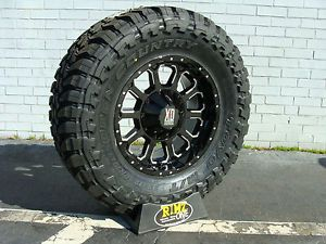 "18"" XD Bomb XD806 Black 37x13 50R18 37x13 50 18 Toyo Open Country MT 37"" Tires"