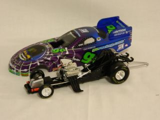 NHRA 1999 Cruz Pedregon 1 24 Scale Goracing com Pontiace Funny Car Die Cast