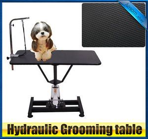 "Hydraulic Adjustable Pet Dog Cat Grooming Table 42""×24"""